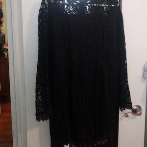 Dresses & Skirts - Black lace romper